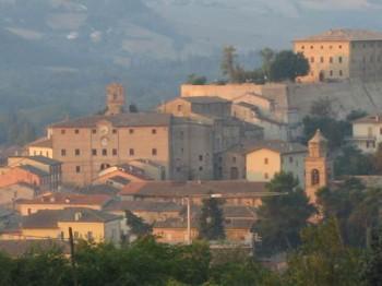 Foto panoramica San Lorenzo in Campo